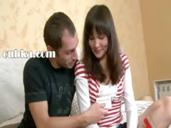 Russian teen cumshotted...